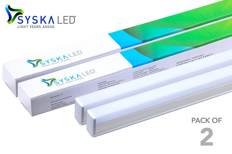 SYSKA T5 Tubelights | Ulaginoli Energy Solutions for t5 led tube light philips  589hul