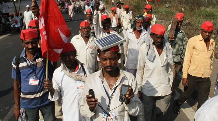 farmers march-mumbai