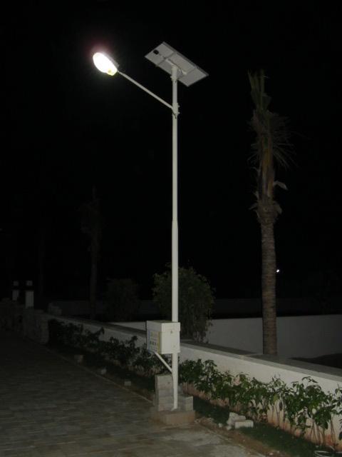Solar Street Lights With Tubular Battery Sslt